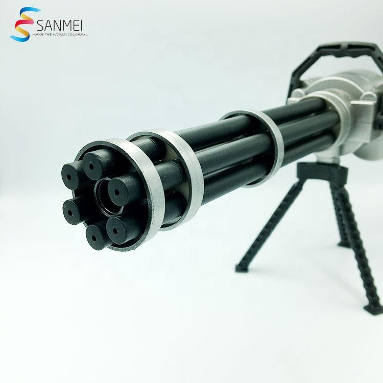 30 см длина изготовленным на заказ логосом Гатлин пистолет ручка Гатлинга модель игрушечное оружие, способный преодолевать Броды для взрослых и детей