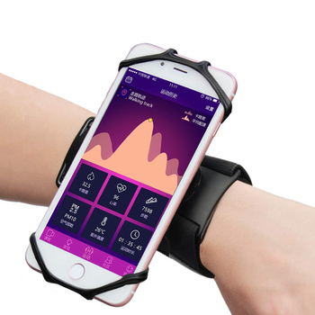 Popular Outdoor Sports Rotatable Mobile Phone Holder Forearm Band Phone Mount Armband Phone Holder