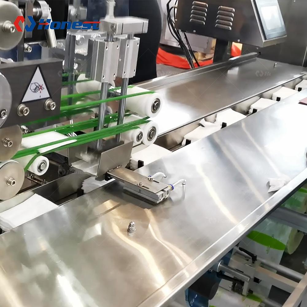 Полностью автоматическая машина для 1-10 шт./упак. влажные салфетки делая машину цена машина для влажных салфеток