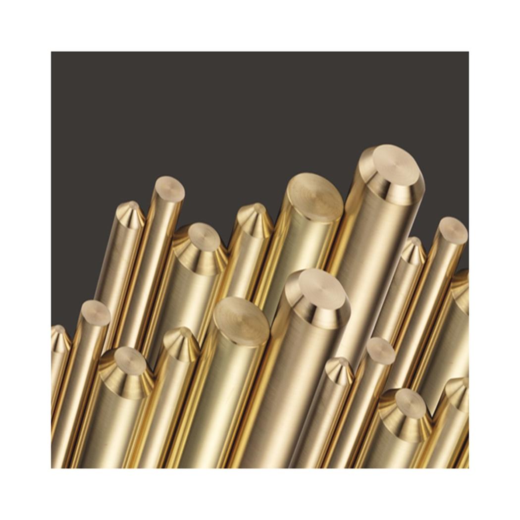 Высококачественный бессвинцовый латунный стержень C6801, сплошной медный стержень 2,0-40,0 мм