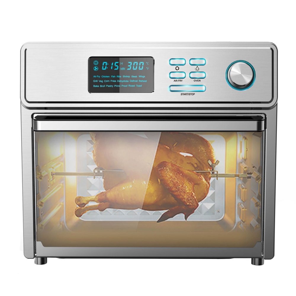 Shiren 25l Whole Stainless Steel Air Fryer Smart Oven Bacon Egg Cheese Breakfast Cooking Style Best New Kitchen Appliance 2020 Buy Air Fryer Smart Oven Best New Kitchen Appliance 2020 Air
