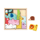 Puzzle 3d Educational Toy Educational Toy Kids 2021 New Animal Block Puzzle 3d Block Puzzle Educational Toy For Kids