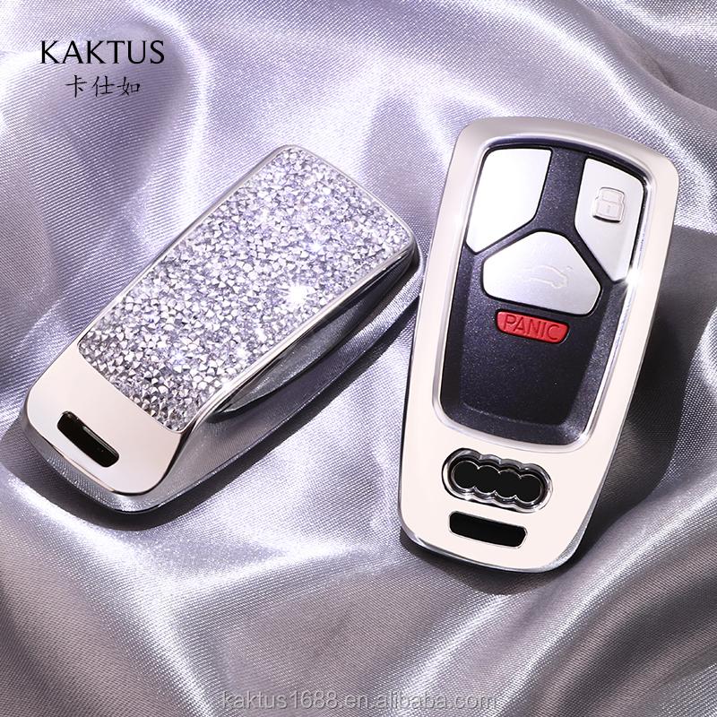 Для AUDI 19 A4  A5  A4 (ТТС) Q7 Q5L S4 RS4 RS5 TTRS TT SQ5 ключа автомобиля чехол ПК Алмазный crystalprotect чехол Корпус для автомобильного ключа