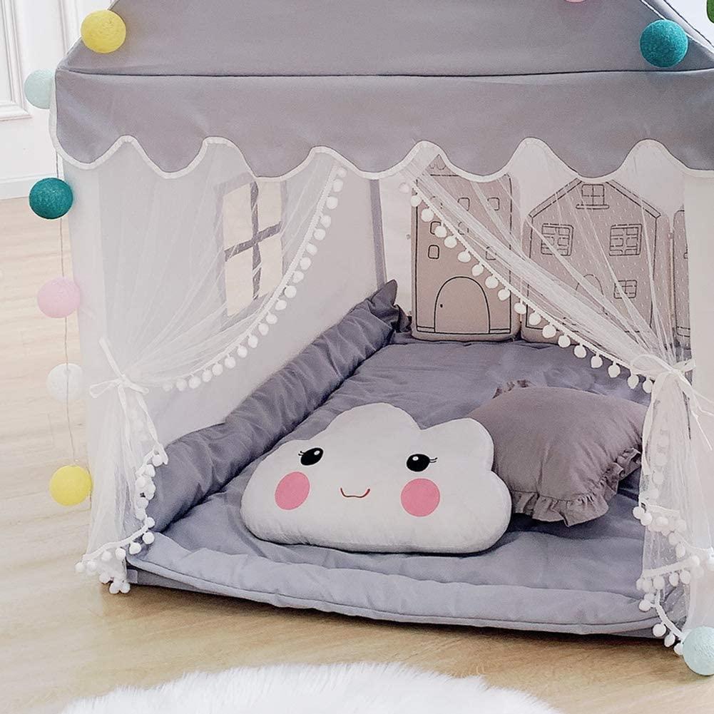Детская игровая палатка большой игровой домик детский игровой замок сказочная палатка для девочек и мальчиков подарок на день рождения