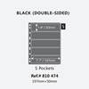 5 Line Black