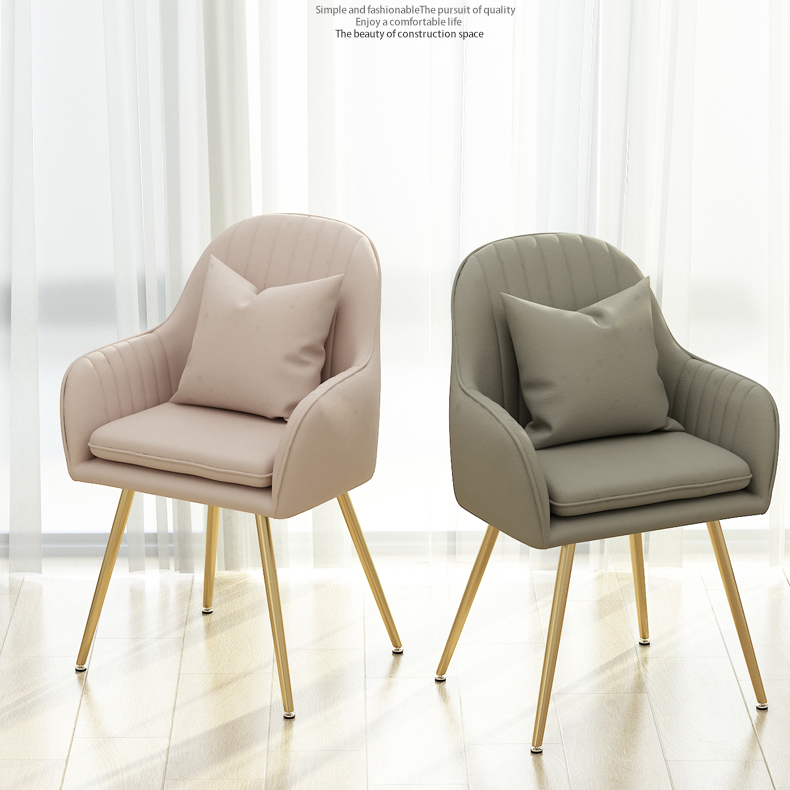 Restaurant Chair Wholesale Pink Nordic Luxury Gold Metal Modern Cheap Velvet Sofa Dining Rooms Hotel Furniture Chairs Restaurant