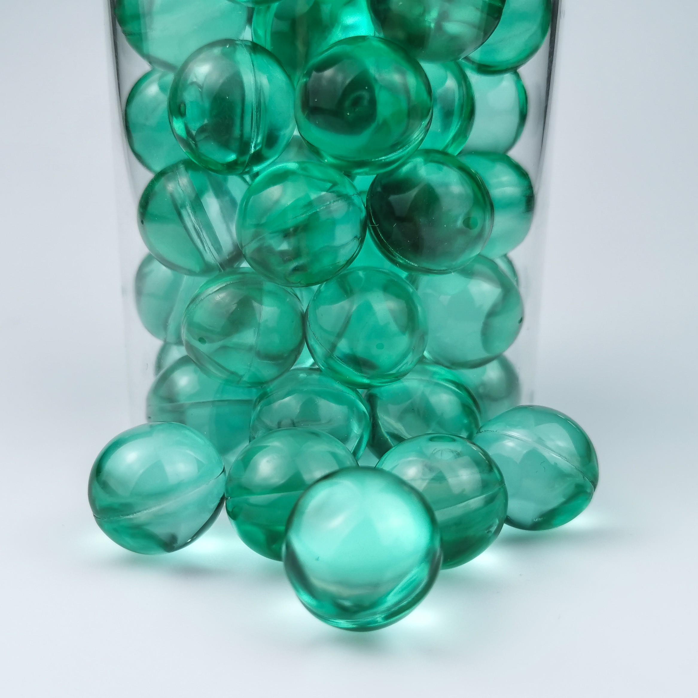 Bath Ball Beads Capsule Moisturize And Soften Skin Long-lasting Cantaloupe Fragrance No Gelatin Residue In Bathtub