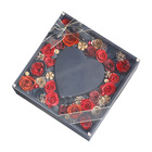 C&D High Quality home decoration flower grade gift box open box preserved rose