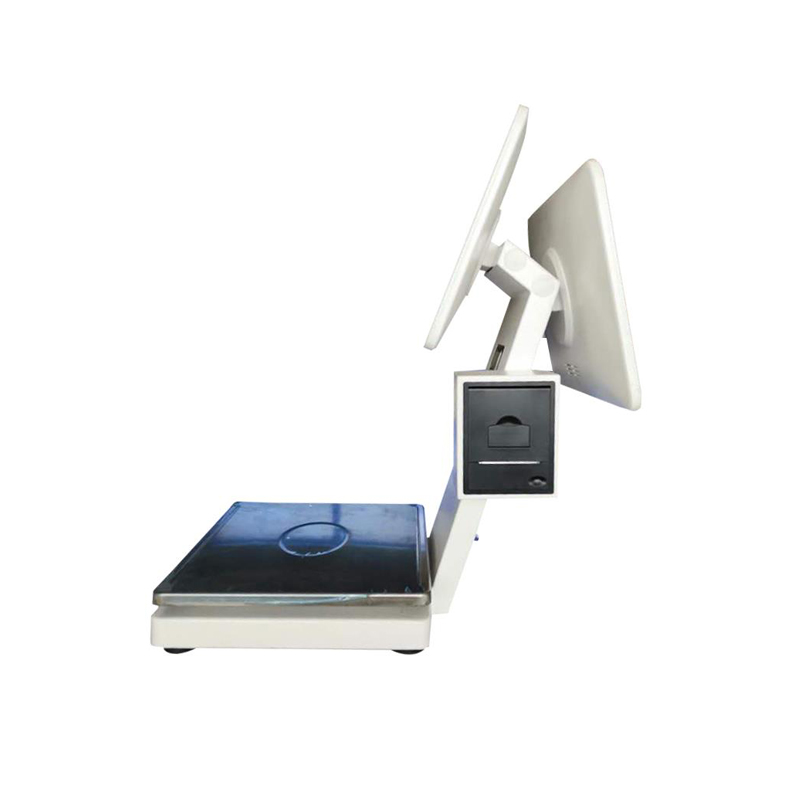 Factory sale 30kg electronic scale with 58mm receipt printer that work with android POS HS-KTS-10C