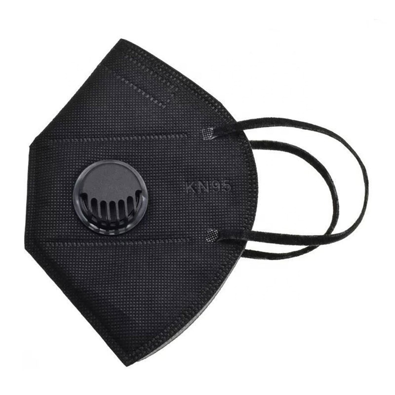 Kn95 masks/face mask masks with valve white - KingCare | KingCare.net