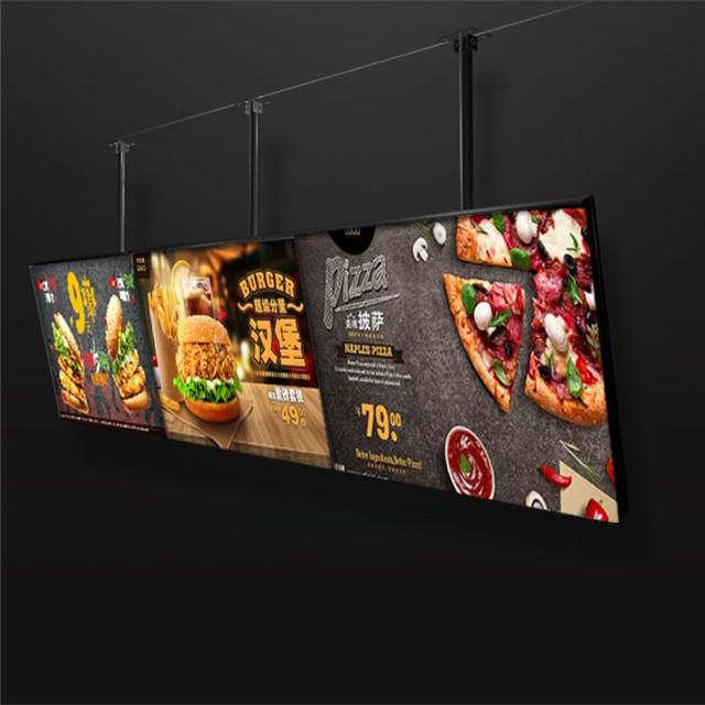 Подвесная Панель меню для ресторана магазина фаст-фуда