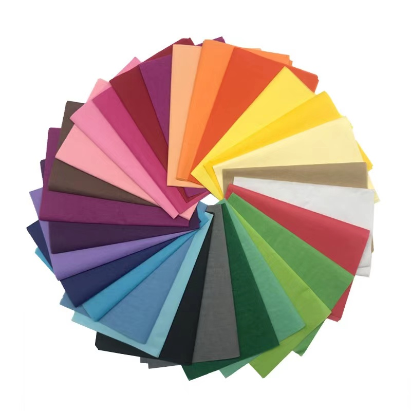 75cm x 50cm Tissue Paper 5 Sheets Various Colours Gift Wrapping or Crafts
