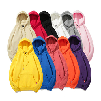 Eco-friendly Hoodies Recycled Material Cotton Sweatshirts Custom Logos Unisex Pullover