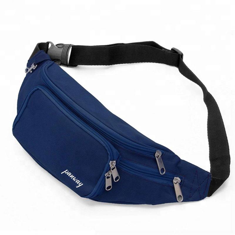 Fanny pack waist bag Hot Sale Wholesale Custom Logo lightweight Waterproof Printed Adjustable Belt Outdoor Running Waist Bag
