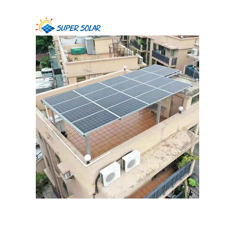 Super Solar Hot Sale Waterproof Solar Mounting Bracket For Home Apartment Hospital solar panel pole mounting brackets
