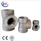 Steel Pipe Tee ASTM A105 Class 3000# Carbon Steel Forged Pipe Fittings TEE