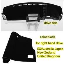 Коврики для vw Volkswagen GOLF GTI MK7 2014 2015 2016 2018 2019, аксессуары для стилизации приборной панели, коврик для защиты от солнца(Китай)