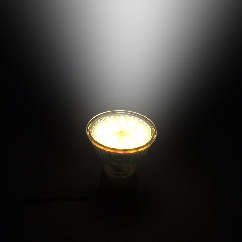 Прожектор со стеклянной крышкой 3000k 6000k mr11 mr16 gu10 Точечный светильник 5 Вт gu 10 светодиодный светильник