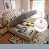 White (1.8*2.0m storage bed+mattress)-LS01ZHR270046