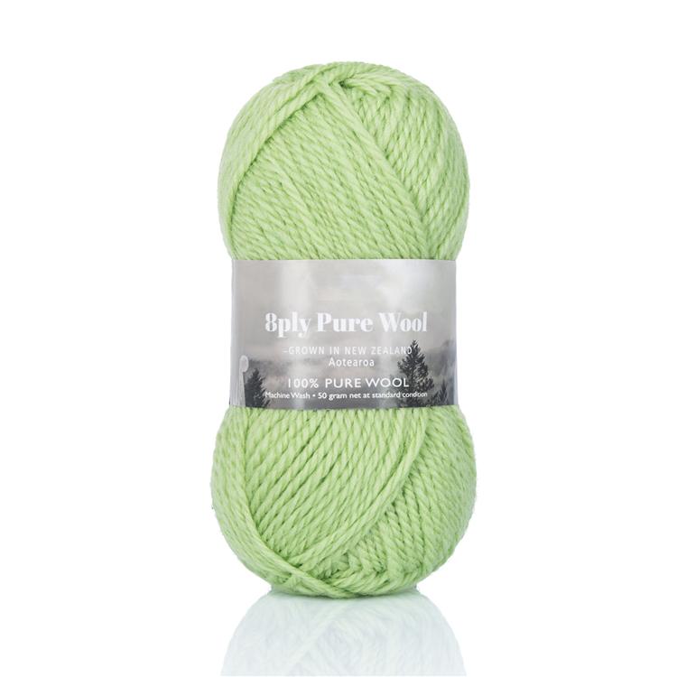 Двойная витая шерстяная вязальная пряжа Superwash для вязания свитеров