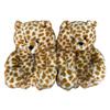 Yellow leopard print