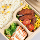 Food Lunch Box Wholesale Biodegradable Lunch Box Paper Takeaway Food Disposable Paper Lunch Box