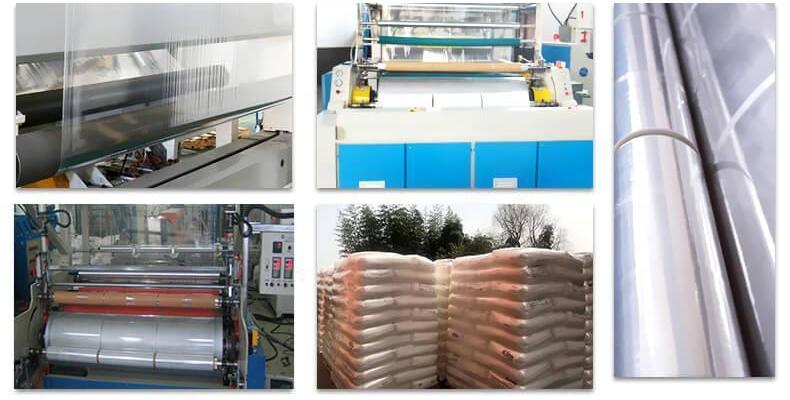 Горячая продажа продукта стретч-пленка 23 мкм 500 мм для доставки груза контейнером