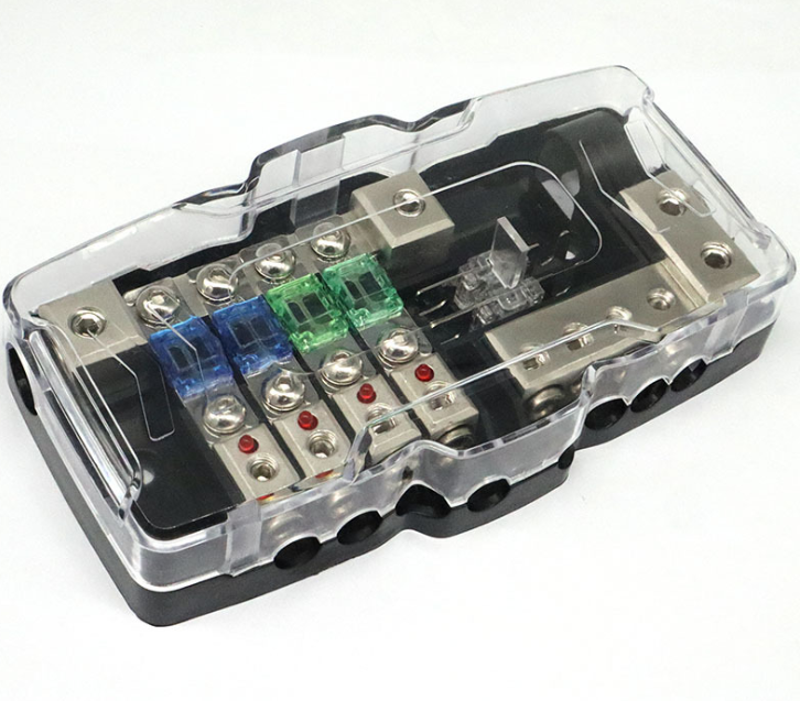 Автомобильный аудио стерео ANL держатель предохранителя распределительные блоки 04GA 4 способ предохранителей блок 30A 60A универсальные автомобильные аксессуары новый