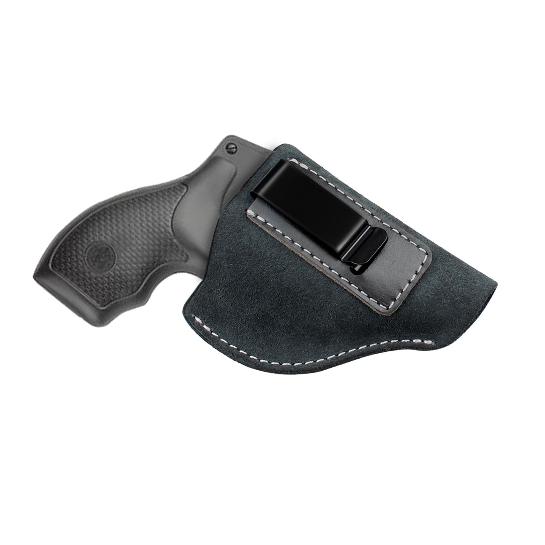 Кобура для револьвера из натуральной замши, кожаная кобура IWB, скрытая кобура для револьвера J Frame Coldre Taurus S & W