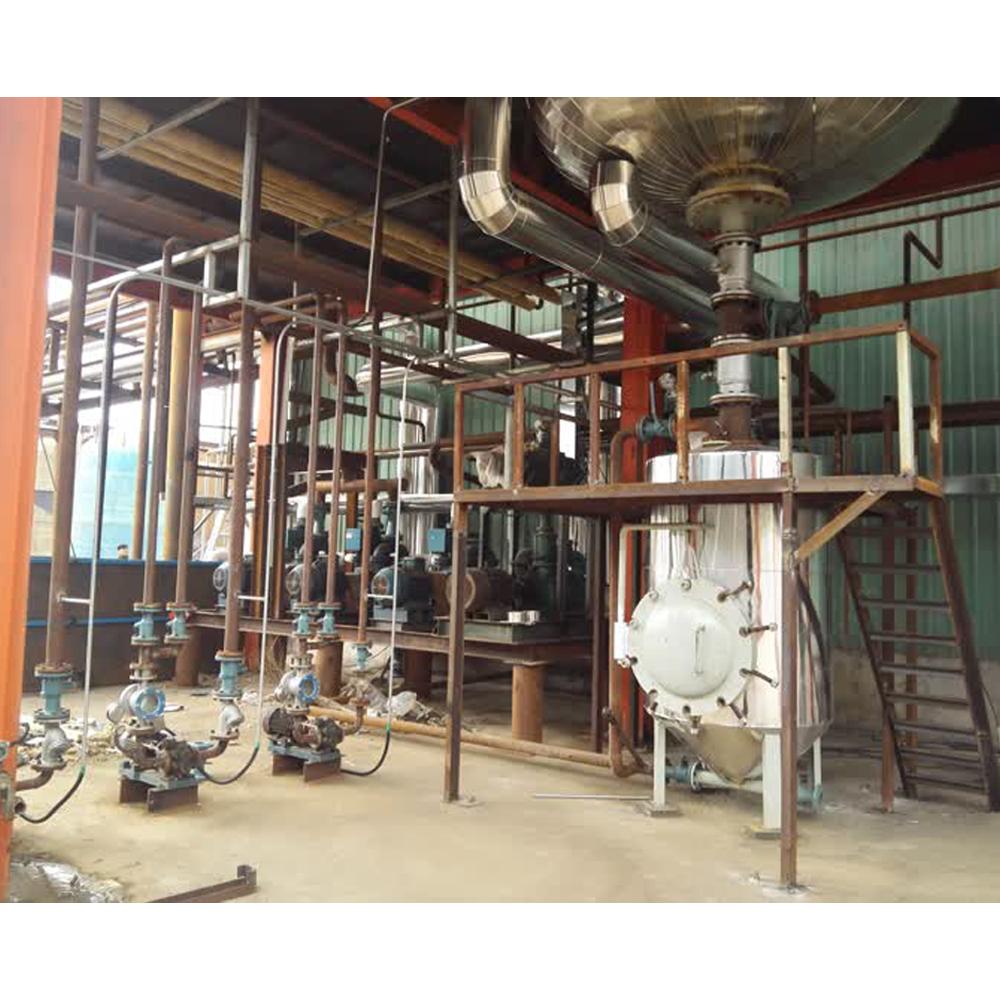 Крупногабаритная установка для обработки глицерола, чистота 98%