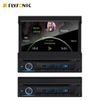 "Dvd FY9906D Single Din Car DVD Player With Retractable 7"" TFT Touch Screen"