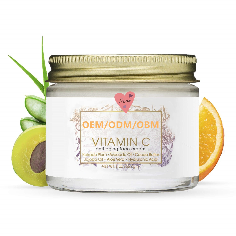 Фирменная торговая марка, лучший антивозрастной крем с витамином C для восстановления кожи лица