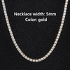 5mm Gold Necklace
