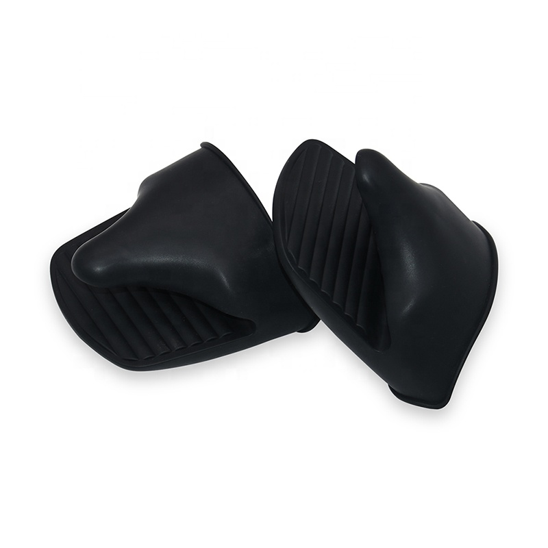 Custom Silicone Pot Holder Heat Resistant Cooking Pinch Mitts Mini Gloves Oven Silicone Mitts
