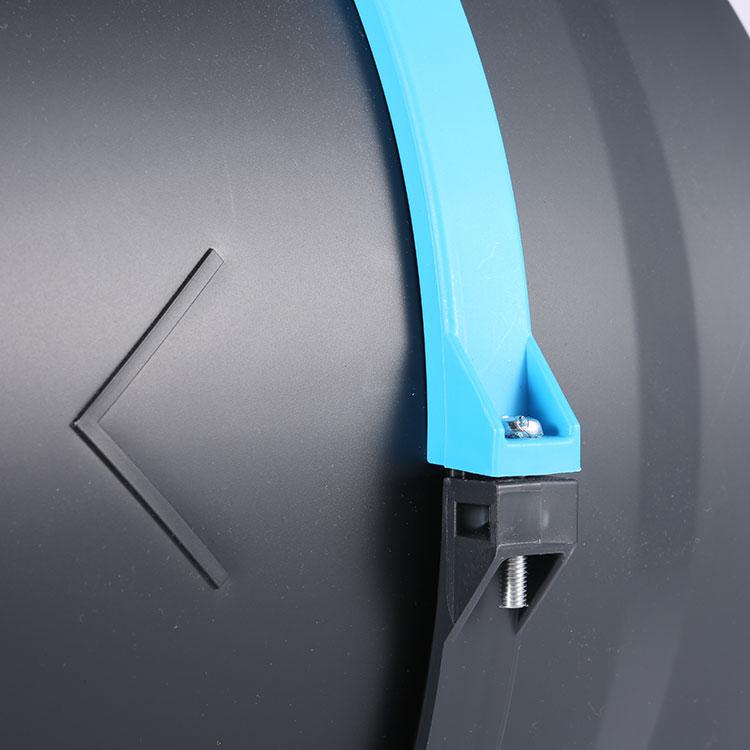 220V 5-дюймовый подключаемый к системе смешанного потока центробежный вентилятор трубопровода