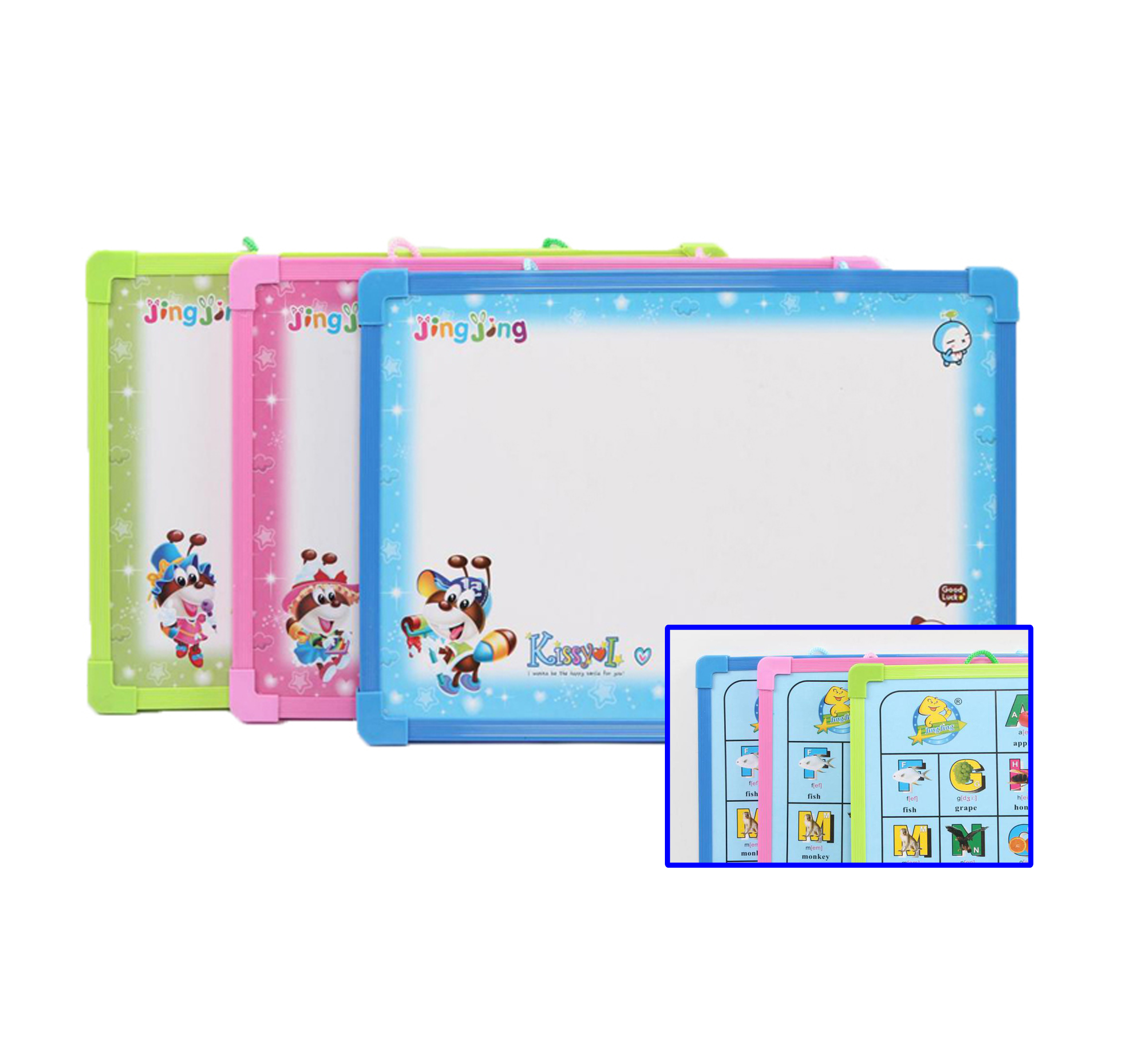 Double Sided Small Wall Mount Magnetic Hanging Dry Erase Teaching White Board for School - Yola WhiteBoard | szyola.net