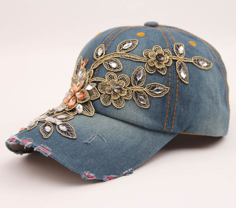 2021 unique peaked Hat Promotional flat Hat Wholesale Adult Plain Unisex OEM Style denim hat for women and men