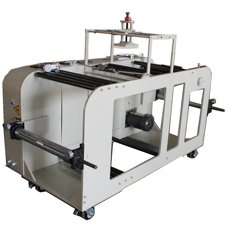 Автоматическая высокоскоростная машина для перемотки пластиковых пакетов с принтером TTO YG