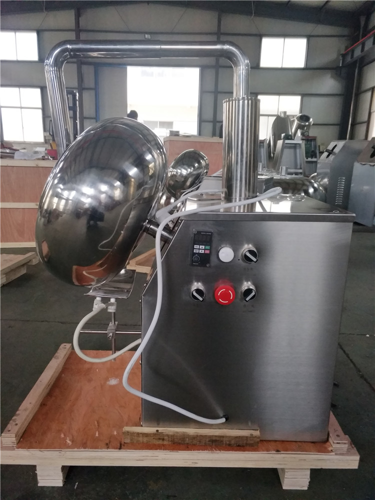 2020 Wholesale High Quality Automatic Small Peanut Chocolate Coating Pane Machine Manufacturing Plant 1-2kg/time 220v/380v 300mm
