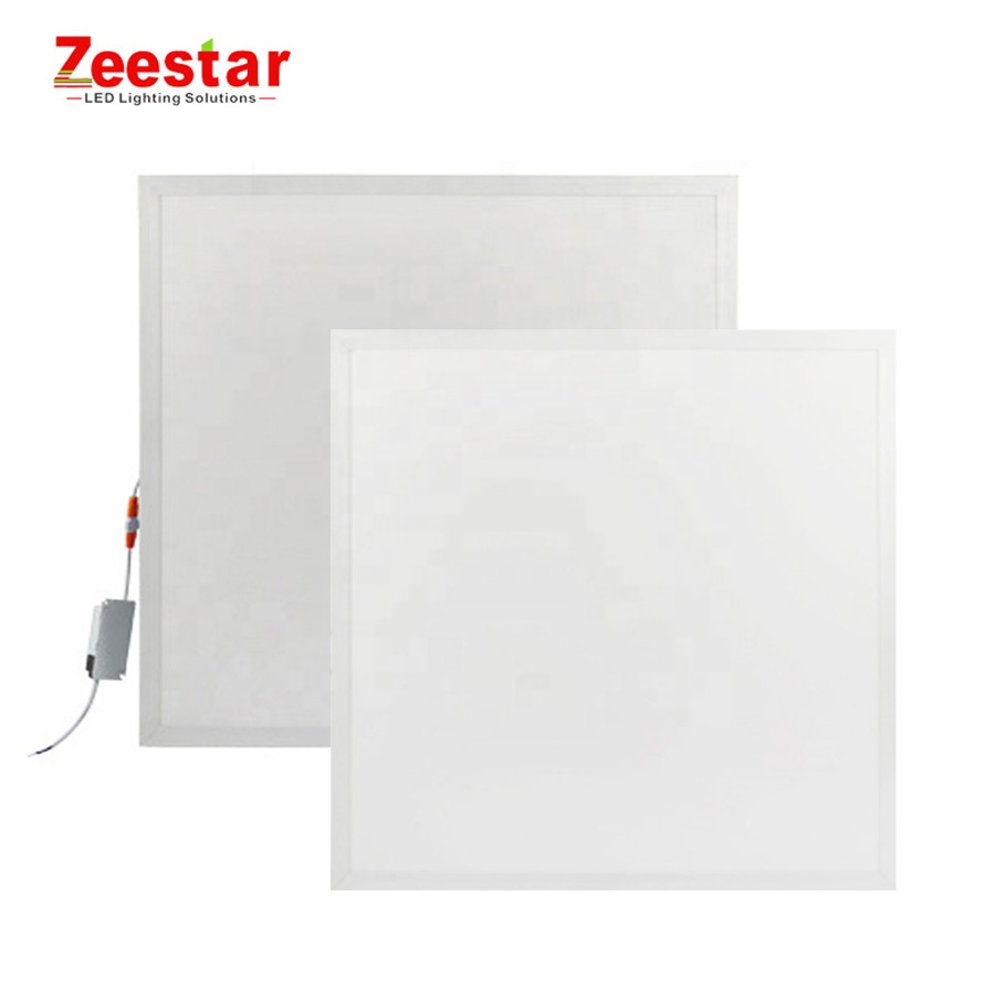 hot sale 600x600 595x595 square flat recessed mounted ultra thin led slim panel light