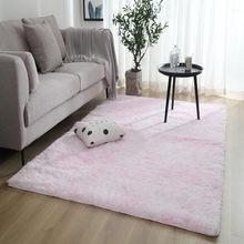 Серые Мягкие плюшевые ковры для гостиной, спальни, Нескользящие напольные коврики, декор для спальни, водопоглощающие ковры(Китай)