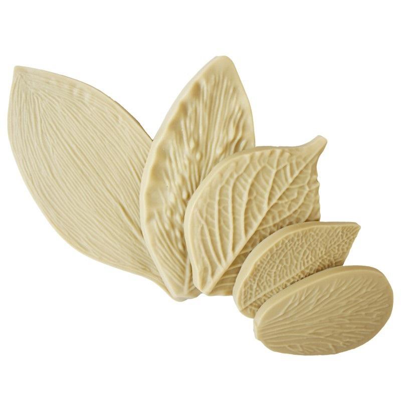 New Peony Leaf Veiner Petal Flower Surgar Gumpaste Cake Decorating Tools