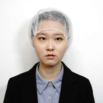 Clean Rooms Food Service PP Non woven Disposable Bouffant Hats Disposable Hair Nets