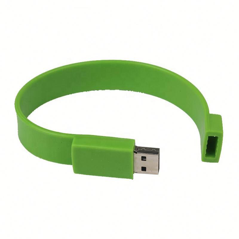 China Wholesale Cheap Promotional Gift Bracelet 1GB 2GB 4GB 8GB 16GB 32GB Logo Print Usb Flash Drive - USBSKY | USBSKY.NET