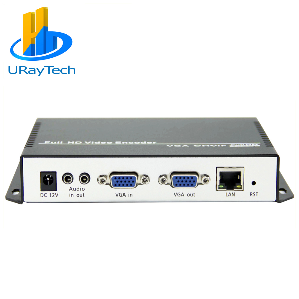 URay H.264 / H264 VGA + Stereo Audio To IP Video Streaming Encoder Support WIFI Hardware