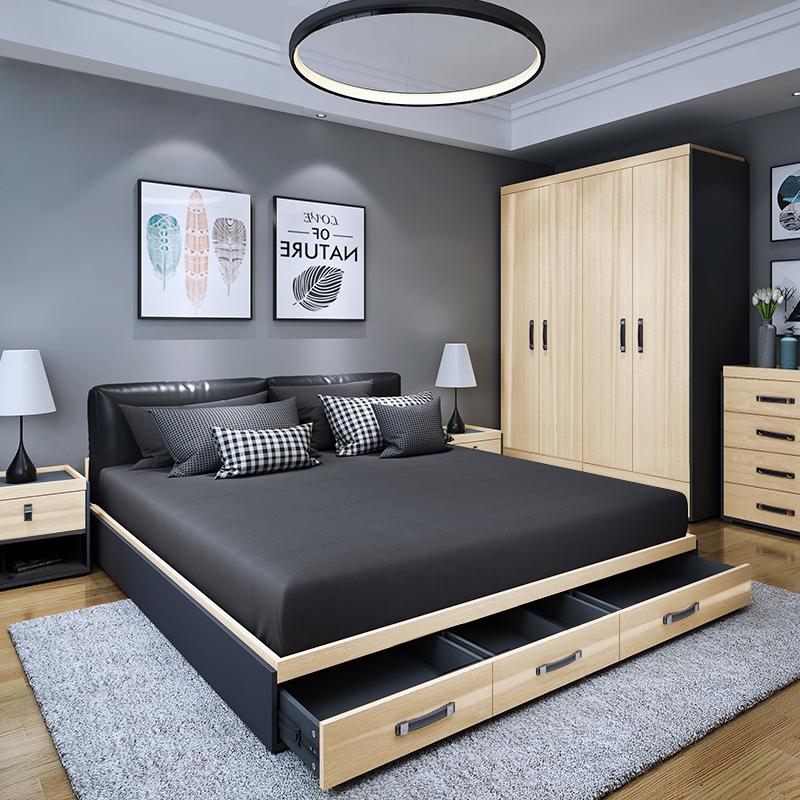 mdf beds for bedroom furniture set