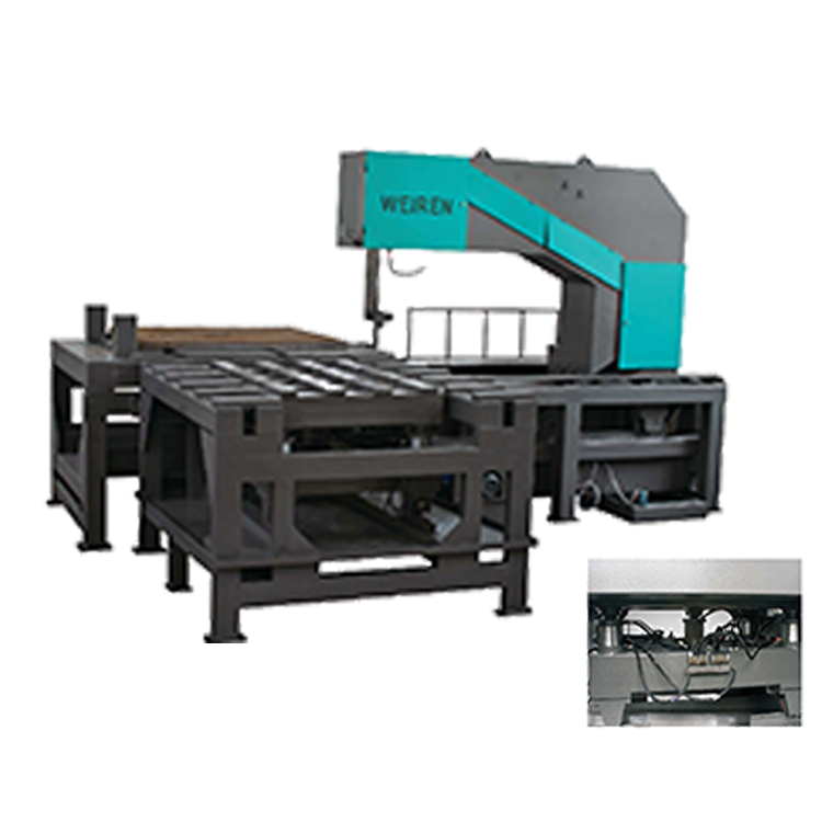 Factory hot sale automatic feeding band saw gantry type aluminum cutting machine Made In China Low Price