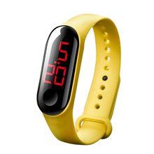 Роскошные мужские и женские спортивные повседневные светодиодный часы, цифровые часы с подсветкой, водонепроницаемые наручные часы, montre ...(Китай)