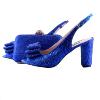 royal blue  8cm heel