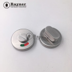 Toilet Door Lock Public Toilet Keyless Door Lock With Indicator For Commercial Building Shopping Mall